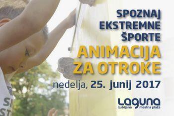 Spoznaj ekstremne športe na Laguni