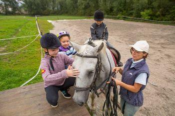 Konjeniški tabori za otroke v Zgornjem Hotiču