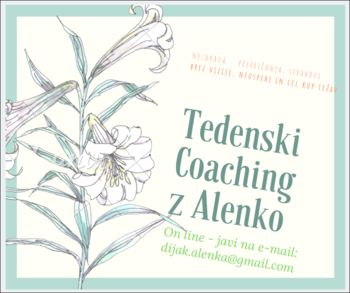 Tedeski coaching in učenje samo-hipnoze ON LINE