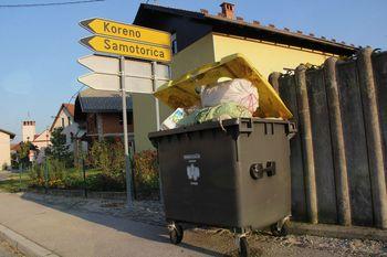 Odpeljanih več kot 23 ton kosovnih odpadkov