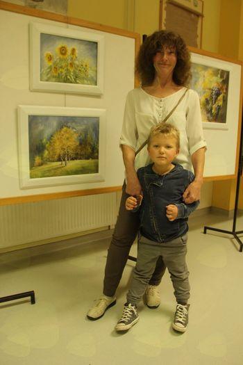 Milena Krasnik: slikanje s prsti kot sprostitev