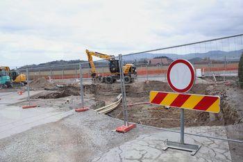Gradbeni projekti napredujejo hitro