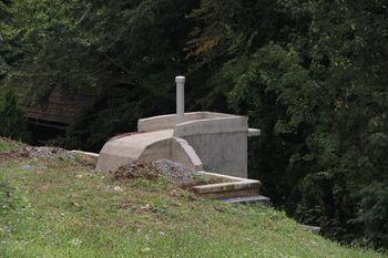 Obnova vodohrana na Lesnem Brdu gre h koncu