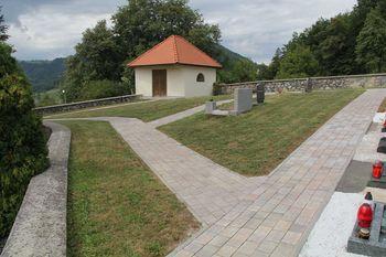 Pokopališče na Lesnem Brdu v novi podobi