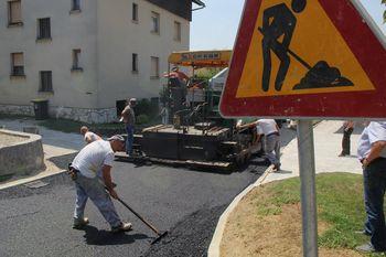 Aktualni infrastrukturni projekti občine