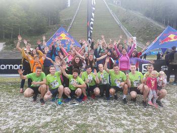 Ekipa PGD Žažar 1 osvojila vrhunsko 2. mesto na letošnjem vzponu na planiško velikanko