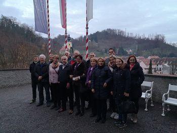 Strokovna ekskurzija vodstva občine in občinskih svetnikov v Rogatec