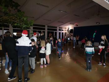 Šolski novoletni ples uspel
