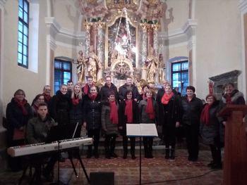 Radost in mir v cerkvi sv. Urha