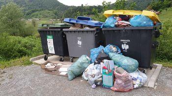 Poostren nadzor nad zbiranjem odpadkov