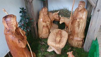 Lesene jaslice v Podolnici
