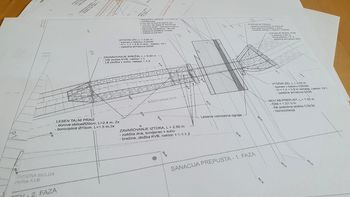 Gradnja prepusta na Vrzdencu