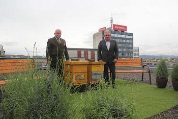 Minister Andrej Vizjak in župan Janko Prebil ob prazniku poudarila pomen čebel