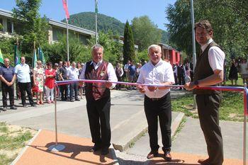 Medgeneracijsko središče v okolici OŠ Horjul je tudi uradno odprto