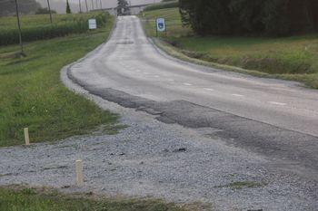 Začetek rekonstrukcije ceste med Podolnico in Brezjami