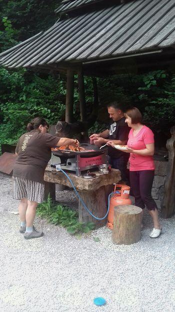 Piknik TD Kokra in balinanje