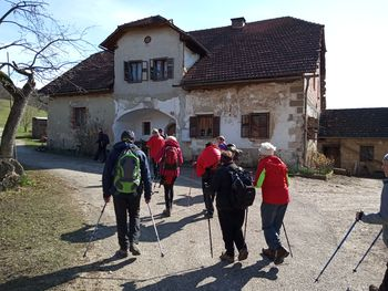 Pohod pohodniške skupine DU Preddvor na Limbarsko goro