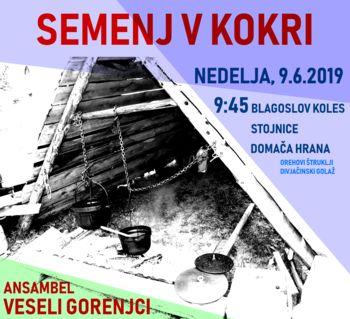 V nedeljo Semenj v Kokri - bi tam meli svojo stojnico?