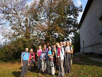 Planinski pohod DU Preddvor k sv. Ahacu nad Turjakom