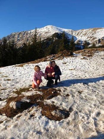 Druženje Kokrjanov na snegu