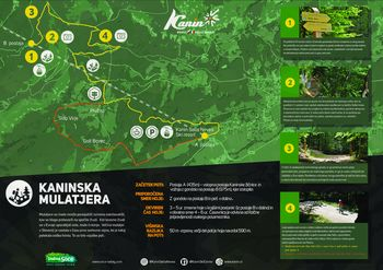 KANINSKA MULATJERA - nova pohodna pot iz B postaje