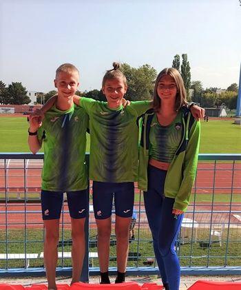 V državni atletski reprezentanci kar trije Trebanjci