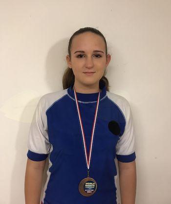 Ajda Zupančič bronasta na Svetovnem mladinskem savate prvenstvu 2017