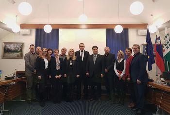 Obisk delegacije Državnega sveta RS