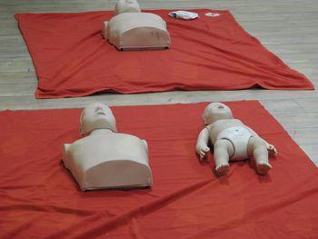 Prikaz temeljnih postopkov oživljanja (TPO) in uporabe defibrilatorja
