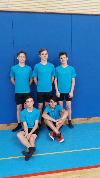 Krmeljski gimnastičarji državni podprvaki