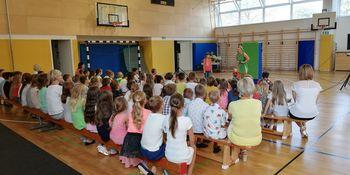 Prvi šolski dan na OŠ Milana Majcna Šentjanž