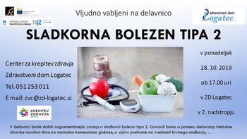 Predavanje o sladkorni boletni tipa 2