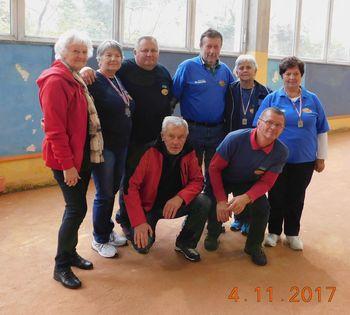 Športno društvo BARON Logatec udeleženec pikado turnirja v Kanalu ob Soči