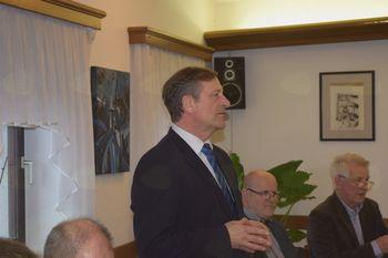 Zunanji minister in predsednik stranke Desus g. Karl Erjavec na delovnem obisku v Litiji