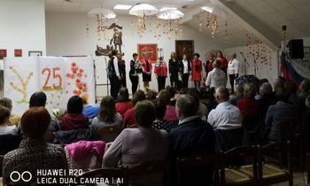 Koncert ob 25. obletnici Mešanega okteta Polica
