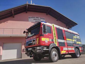Novo gasilsko vozilo na Polici - PGD Polica