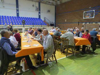 Srečanje članov DU BILJE ob 1. oktobru Dnevu starostnikov