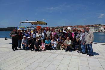 Biljenski upokojenci odšli na križarjenje na otok Cres