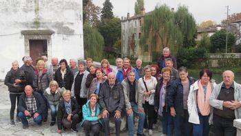 Biljenski upokojenci na Martinovanju v Italiji