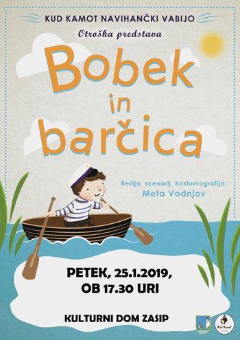 Premiera predstave Bobek in barčica