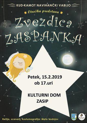 Premiera otroške predstave Zvezdica Zaspanka