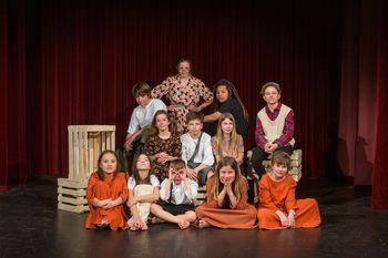 Srote odhajajo na državno srečanje otroških gledaliških skupin