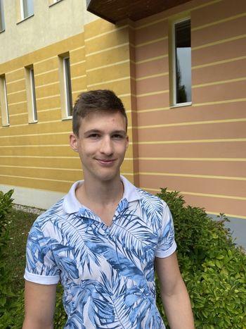 Bernard Zupanc, diamantni maturant na EGSŠ Radovljica