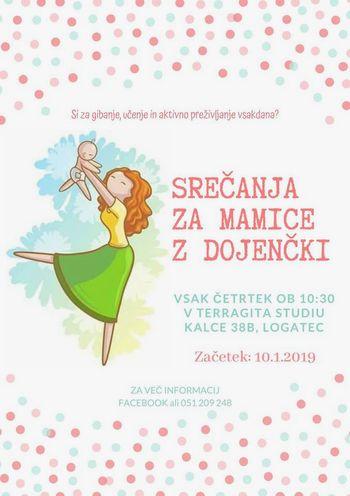 Srečanja za mamice z dojenčki