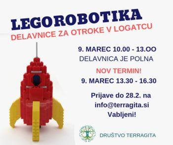 Delavnica: LEGO ROBOTIKA ZA OTROKE