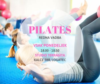Pridi na pilates! (nov termin ob ponedeljkih)