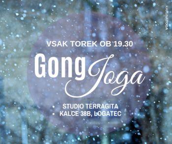 GONG JOGA; redna praksa (Logatec/Kalce)
