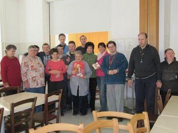 Obisk prostovoljke
