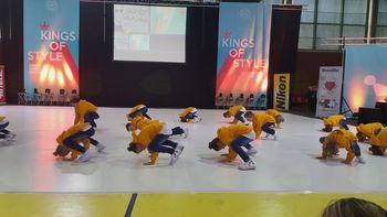 Plesni klub EL1 na tekmovanju v Zagrebu