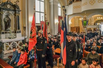 Colski gasilci počastili sv. Florjana
